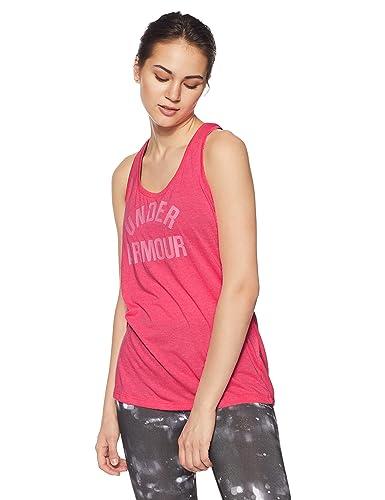 Under Armour Mujer De Marca Tech Twist Tanque Estampada Camiseta