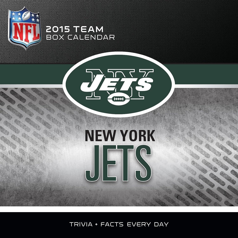 8051343 Turner Perfect Timing 2015 New York Jets Box Calendar