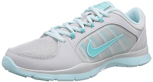 online retailer 2cb8c ce397 Nike Flex Trainer 4 - Zapatillas para mujer, color mehrfarbig (lght ash  gry hypr trq-tl tnt-t), talla 36  Amazon.es  Zapatos y complementos