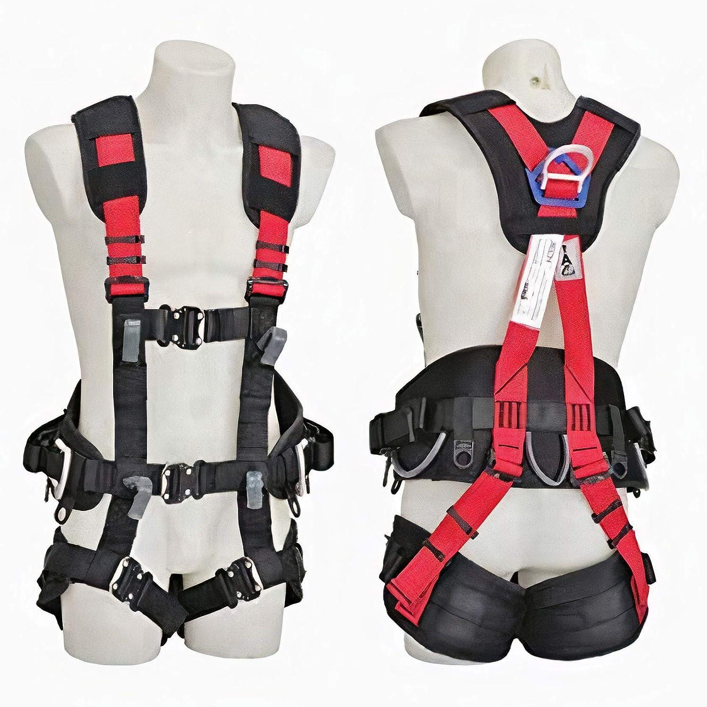 Arnés seguridad trabajo cuerpo entero - Maxi Confort - 5 puntos de anclaje