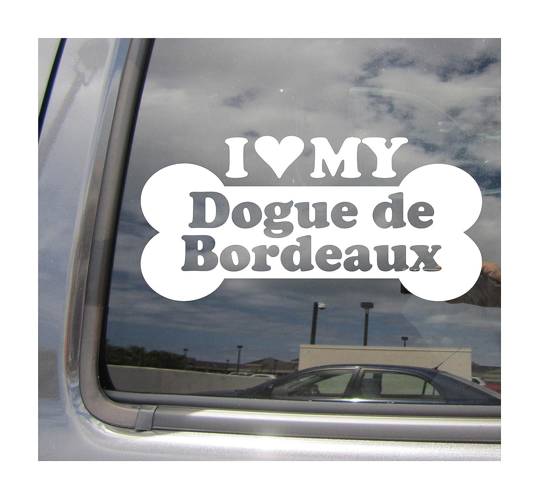 Dogue de Bordeaux French Mastiff Dog Car Sticker Original Design