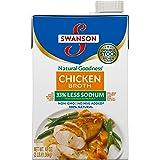 SwansonNatural Goodness Chicken Broth, 48 oz. Carton (8 Pack)