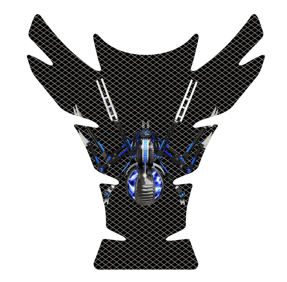Can Am Can-AM Spyder F3 Motorcycle Tank Pad Protector size 10\' tall x 9.3\' wide Immortal Graphix COMINU019205