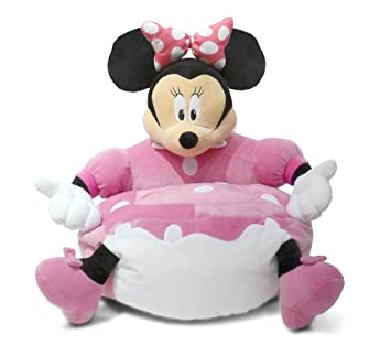 Swell Amazon Com Disney Minnie Mouse Figural Toddler Bean Bag Creativecarmelina Interior Chair Design Creativecarmelinacom