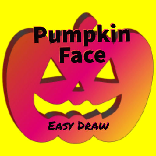 (Pumpkin Face-Easy Draw (No)
