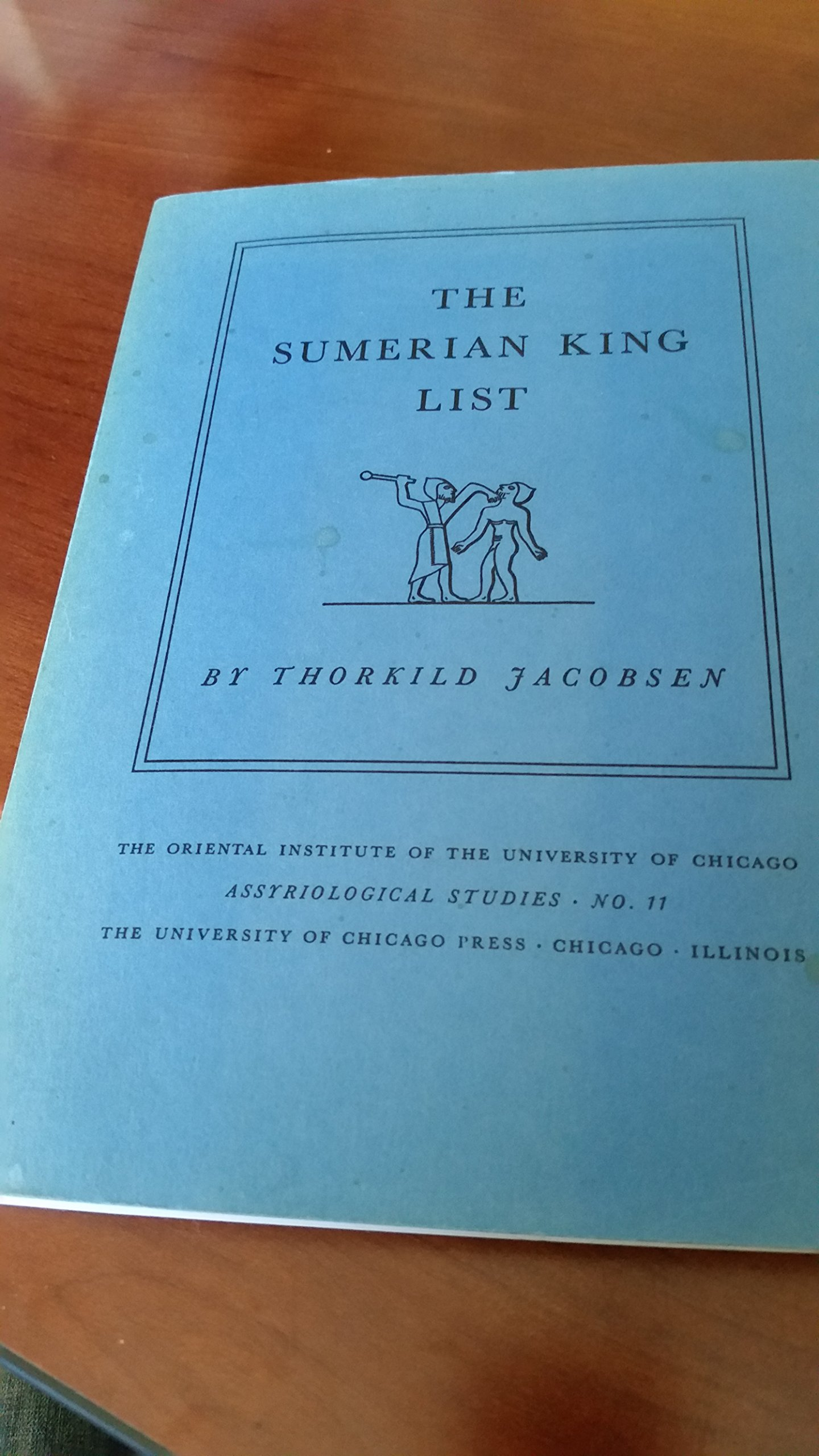 Sumerian King List (Assyriological Studies)