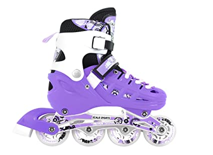Amazon Com Adjustable Inline Skates Ice Skates Combo Pack Gift