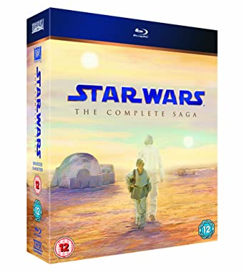 Star Wars: the Complete Saga [Reino Unido] [Blu-ray]: Amazon.es: Cine y Series TV