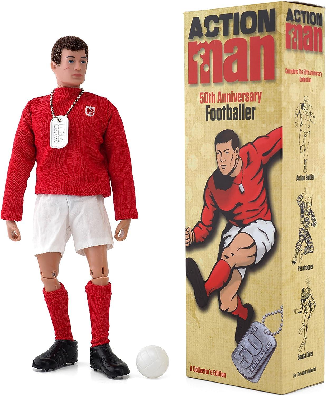 Action Man AM713 - Figura de acción 50th Anniversary Footballer.