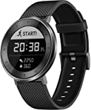 Huawei Fit Smart Fitness Watch Heart Rate and Sleep Monitor Water Resistant Activity Tracker, Black Sport Band, Large