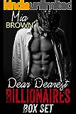 Dear Dearest Billionaire Romance Series Box Set