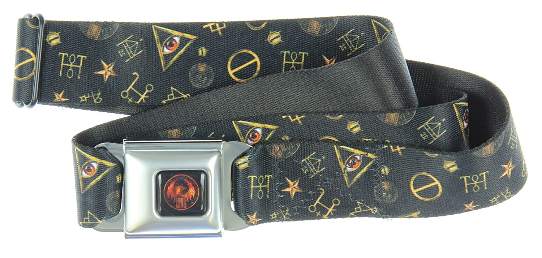 Buckle-Down Mens Seatbelt Belt Lilo /& Stitch Dy063
