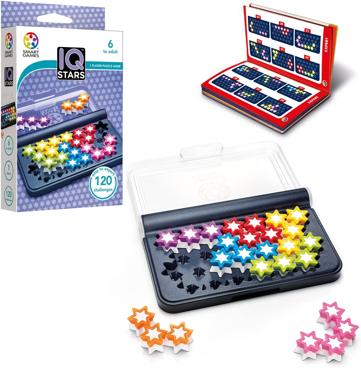 smart games - IQ Stars, Multicolor (SG411)