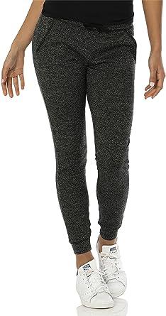 6da073572c VBRANDED Women's Lightweight Fitted Skinny Joggers Sweatpants Black XS