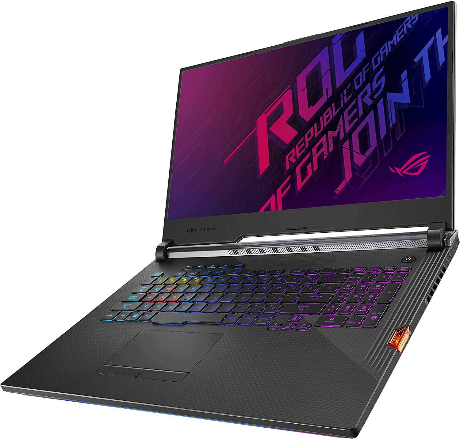 "ASUS ROG Strix Scar III (2019) Gaming Laptop, 17.3"" 240Hz IPS Type FHD, NVIDIA GeForce RTX 2070, Intel Core i7-9750H, 16GB DDR4, 1TB PCIe SSD, Per-Key RGB KB, Windows 10 Home, G731GW-DH76"