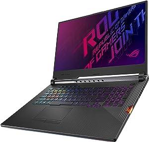 "ASUS ROG Strix Scar III (2019) Gaming Laptop, 17.3"" 240Hz IPS Type FHD, NVIDIA GeForce RTX 2070, Intel Core i7-9750H, 16GB DDR4, 1TB PCIe SSD, Per-Key RGB KB, Windows 10 Home, G731GW-DH76"