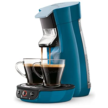 Senseo Viva Café HD6563/71 - Cafetera (Freestanding, Pod coffee machine, 0.9 L, Coffee pod, 1450 W, Blue): Amazon.es: Hogar