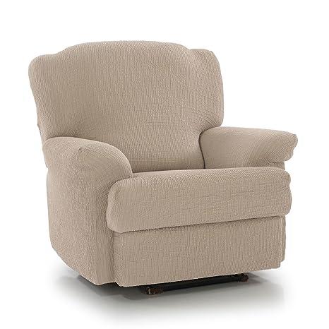 Funda lujosa para sillón, de Homescapes, elástica, fácil de ...