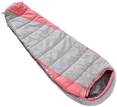 Lafuma Schlafsack LD Ecrins 40 - Saco de dormir momia para acampada, color rosa,