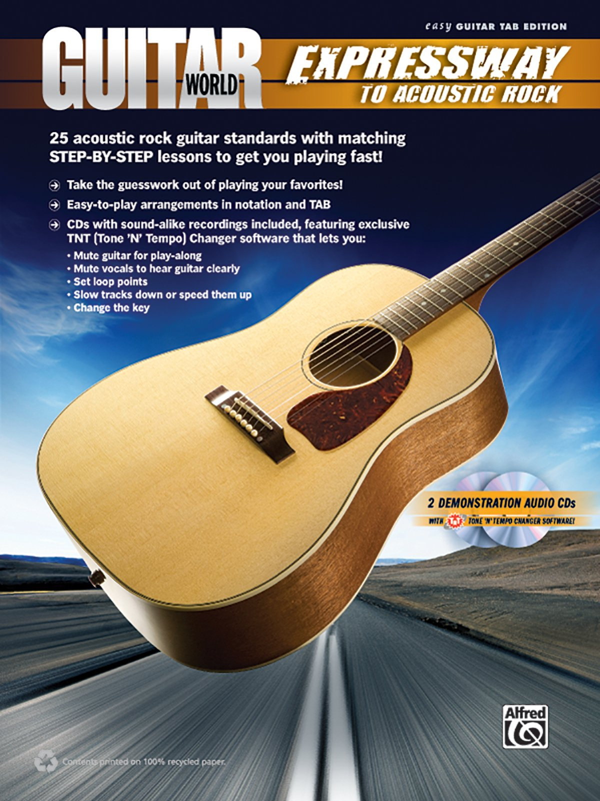 Amazon Guitar World Expressway To Acoustic Rock 25 Acoustic
