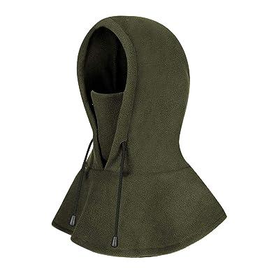 Ski Face Mask Cape Balaclava Fleece Hood Neck Warmer Hat for Men and Women  Winter Snow Protective  Amazon.co.uk  Clothing 883d044d3