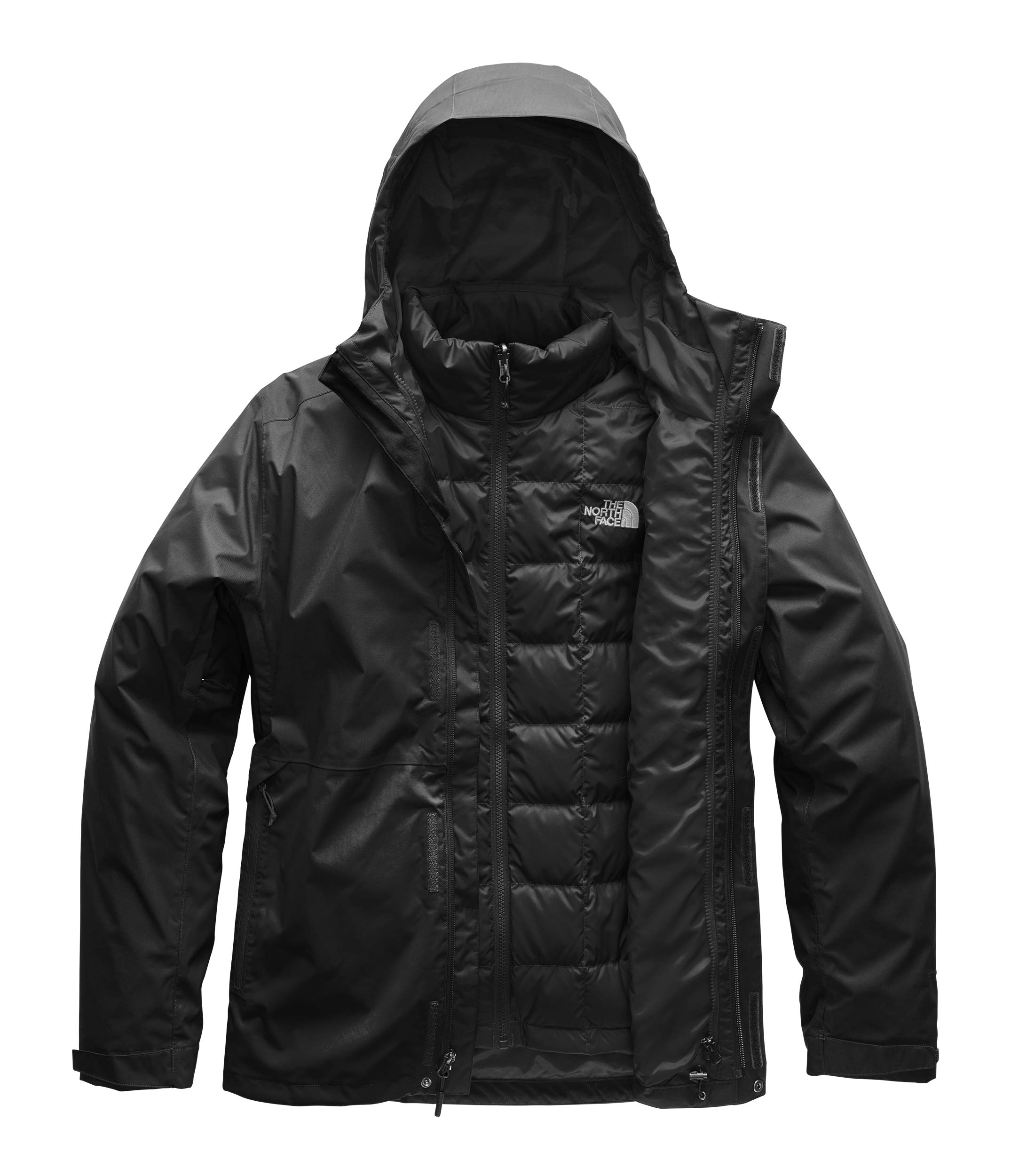 The North Face Men's Altier Down Triclimate Jacket, TNF Black/TNF Black, S by The North Face