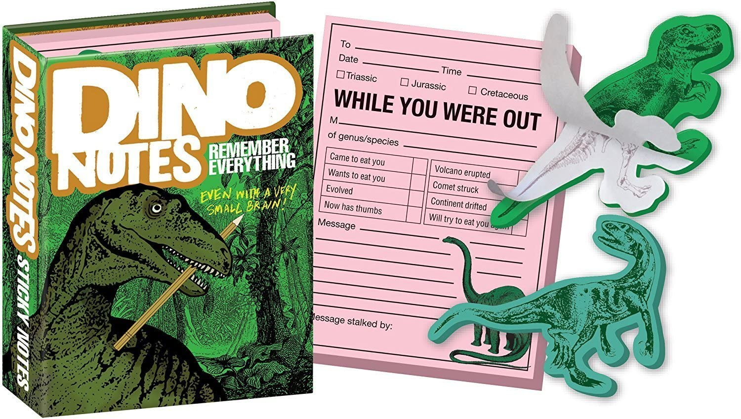 Dino Notes - Dinosaur Sticky Notes Booklet