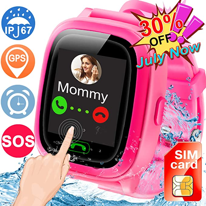 Amazon.com: [SIM Card Included] Kids Smart Watches,ZOFUNNY ...