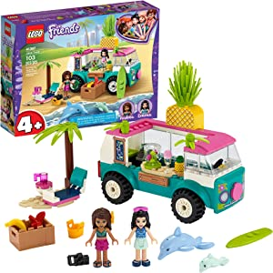 LEGO Friends Juice Truck Truck 41397 Building Kit; Kids Food Truck Featuring Friends Emma Mini-Doll Figure, New 2020 (103 Pieces)