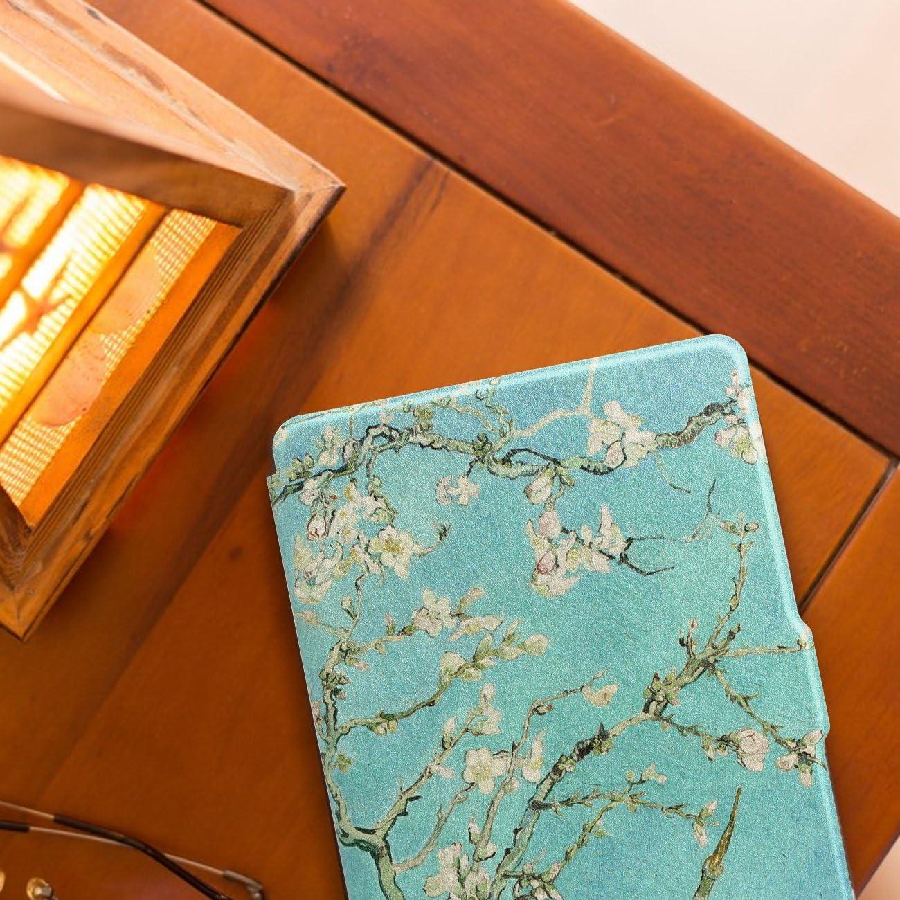 WALNEW  Kindle Paperwhite /Étui Le Plus l/éger et d/ünnste Haute qualit/é Etui en Cuir pour Kindle Paperwhite avec Veille Automatique//Fonction de Repos