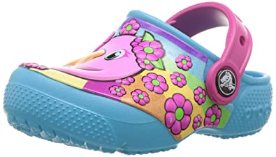 f4763a71e5f Image Unavailable. Image not available for. Colour: Crocs Unisex Kids' Fun  Lab K Fmgo/Ebl Clogs