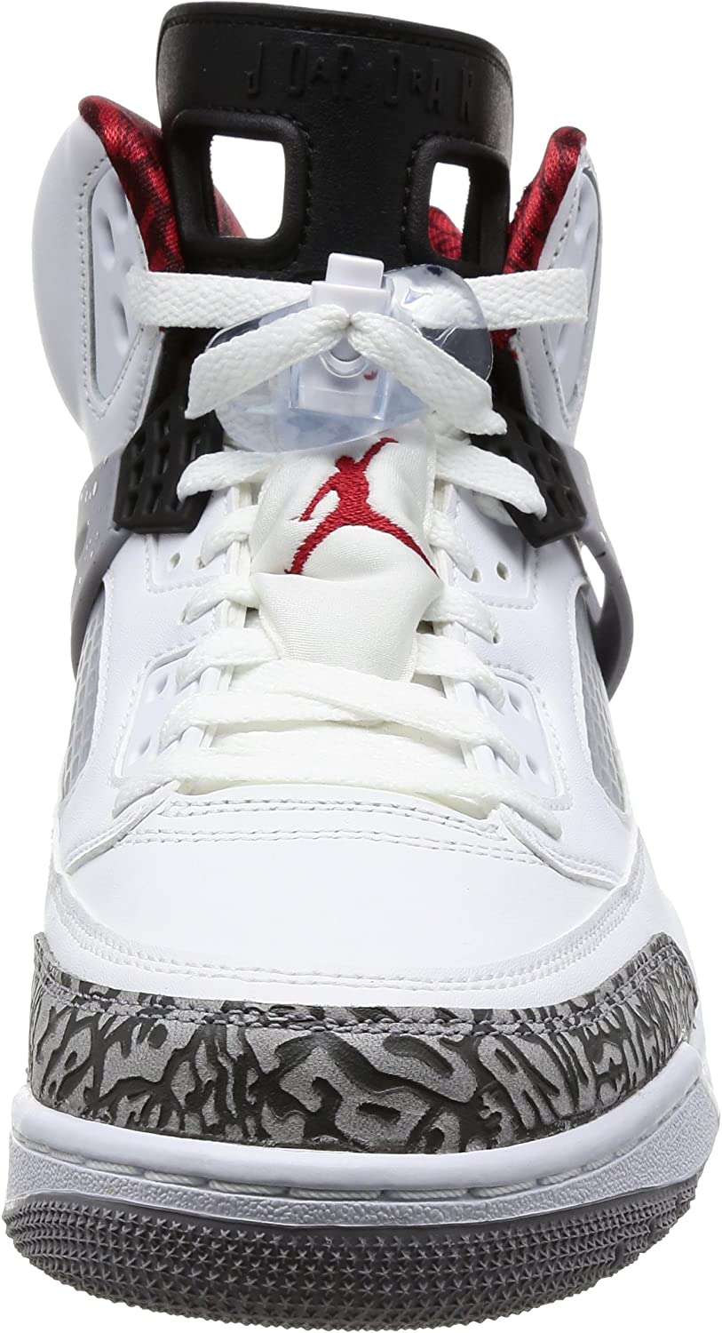 Nike Roshe One (GS) Shoe, Chaussures de Running Mixte Enfant Blanc White Varsity Red Cement Grey