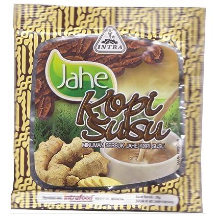 c1ca01763 Intra Jahe Kopi Susu (Té de jengibre con café y leche), 28 gramos ...