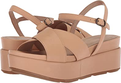 cfd8a87b7a Amazon.com | Eileen Fisher Women's Juno Desert Tumbled Leather 10 B US |  Sandals