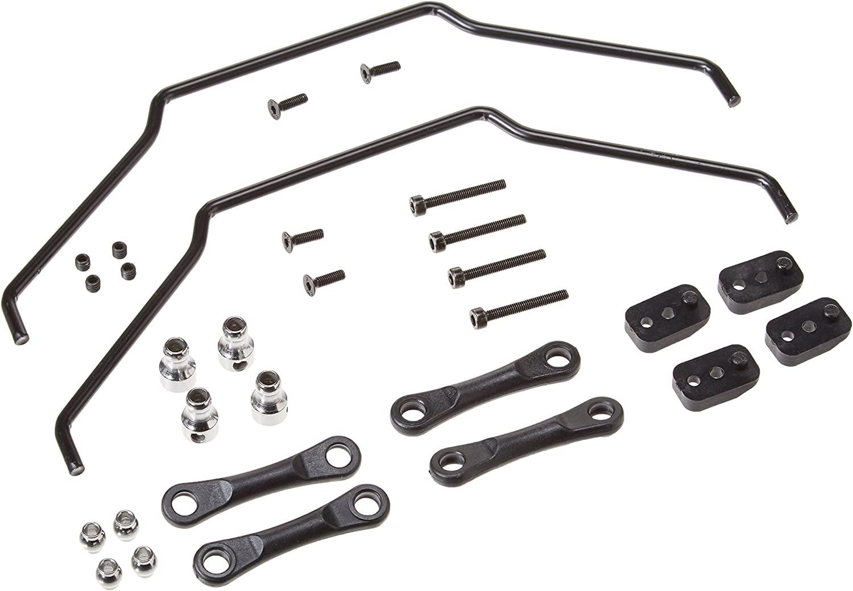 Losi LOS254013 Front Rear Sway Bar Kit 1//5th 4WD Desert Buggy XL