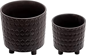 Sagebrook Home 13870-33 Footed Planters 9/6