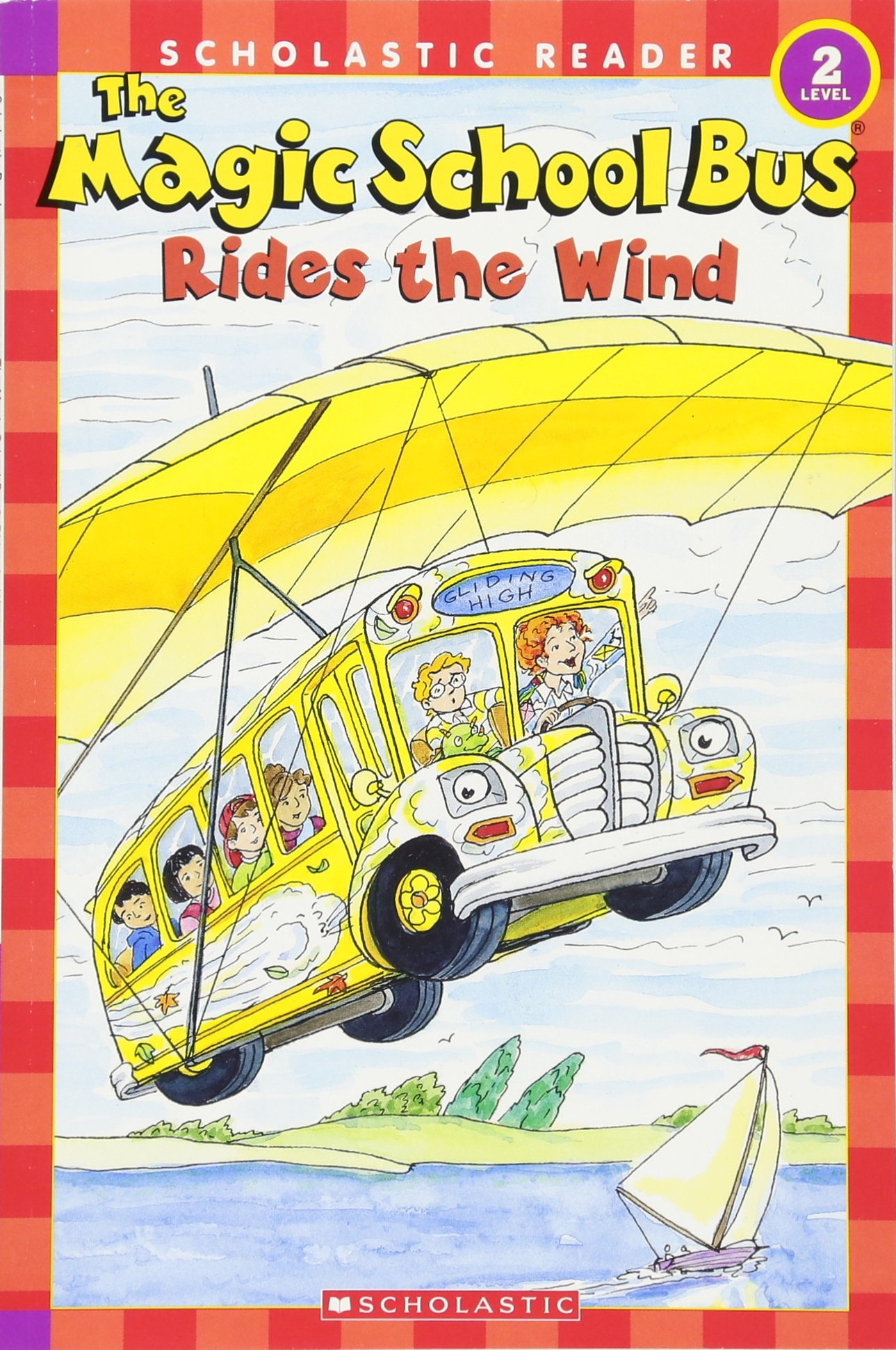 Read Online The Magic School Bus Rides the Wind (Scholastic Reader, Level 2) PDF