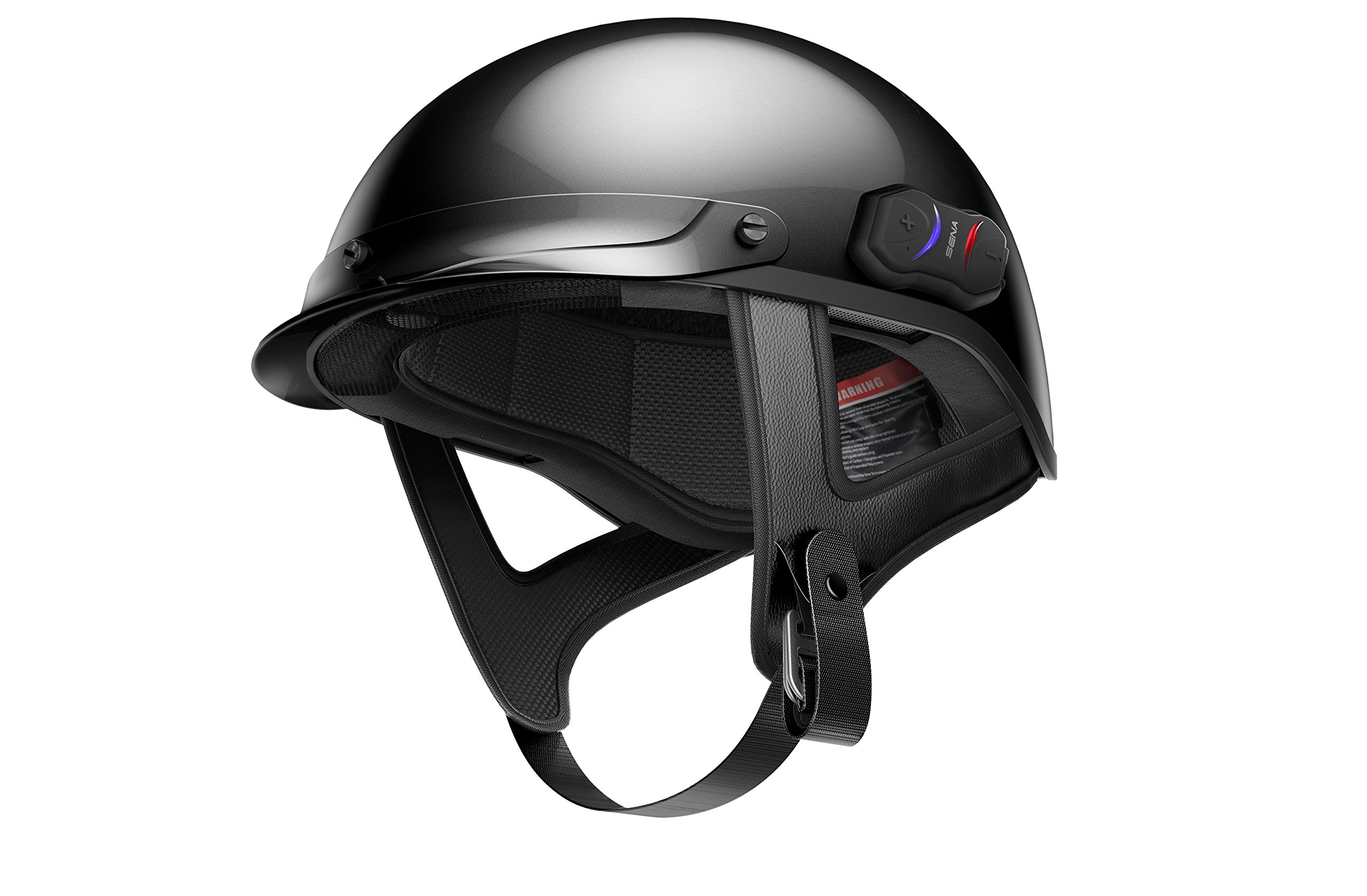 Sena CAVALRY-CL-GB-XS Gloss Black Extra Small Bluetooth