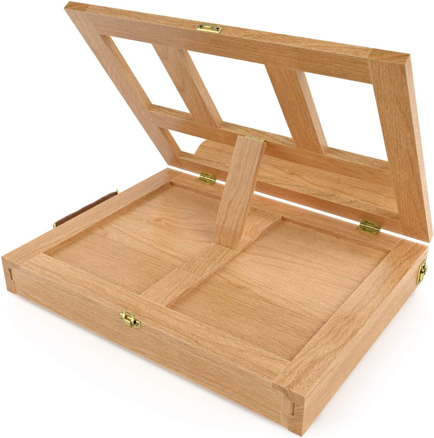 Adjustable Desk /& Table Easel with Storage Drawer and Palette Arteza Wood Tabletop Easel 13.38 x 10.25 x 2 Inch Portable Artist Easel Box Drawing /& Displaying Artwork for Painting
