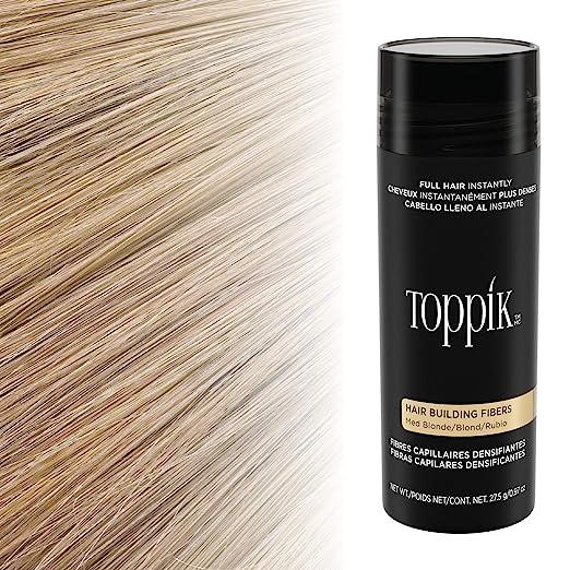 Toppik - Fibras capilares de queratina natural, Blanco, bote de 55 ...