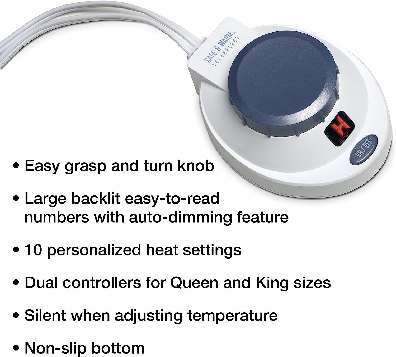 81lz380hzyL. AC SL1500 SoftHeat Luxury Micro-Fleece Electric Heated Blanket Review