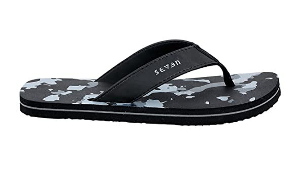078a6fc9867 Seven by Ms Dhoni Men s Synthetic Flip Flops  Buy Online at Low Prices in  India - Amazon.in