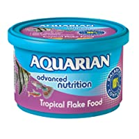 API AQUARIAN Complete Nutrition, Aquarium Tropical Fish Food Flakes, 50g Container