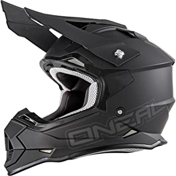 Oneal Black 2017 2Series Rl Flat Mx Helmet (Xl , Black)