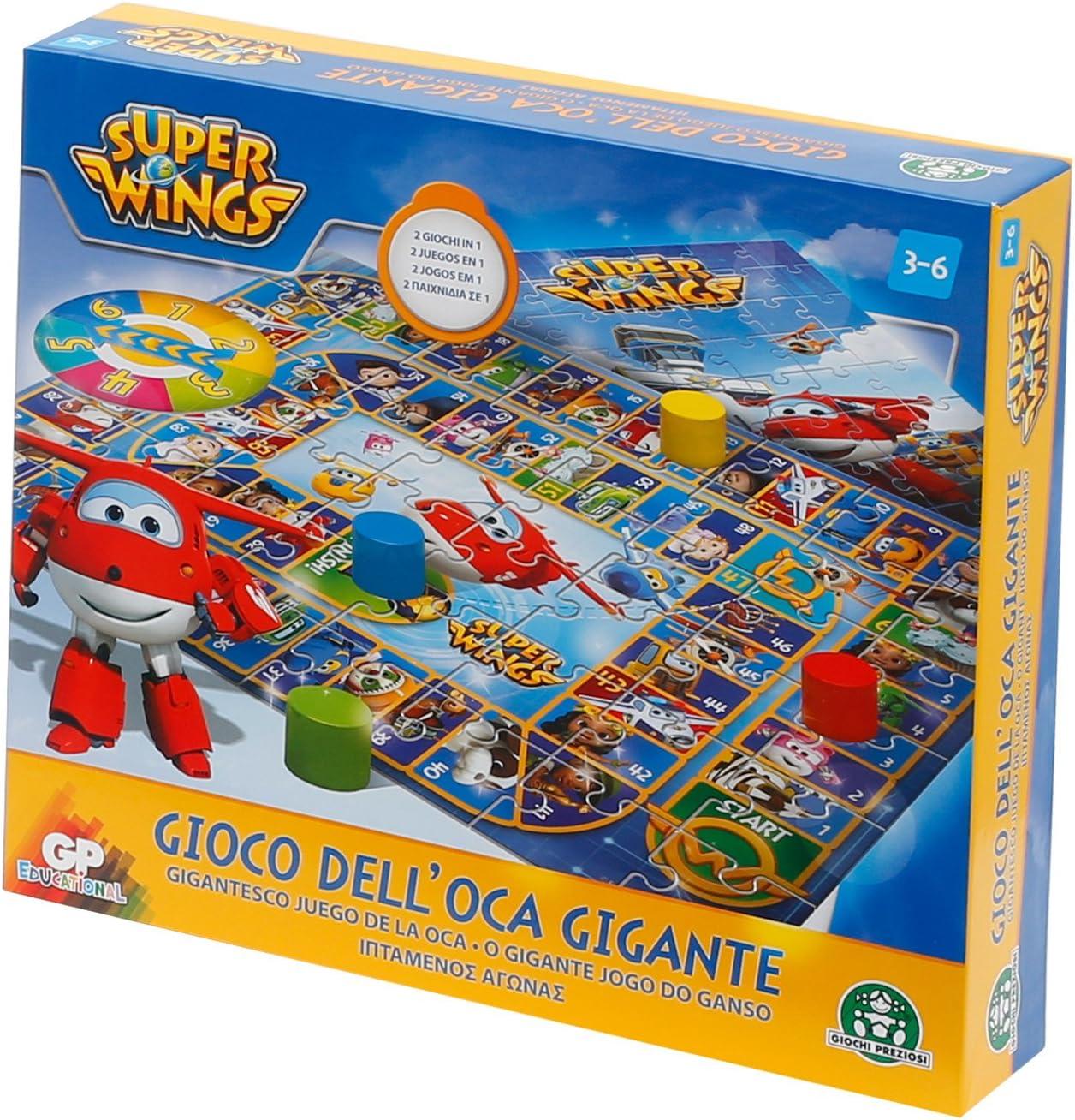 Superwings - Juego de la oca Gigante (Giochi Preziosi UPW22000): Amazon.es: Juguetes y juegos