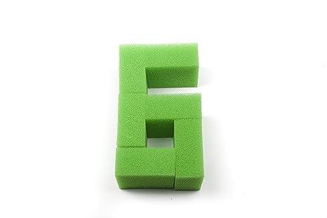 Genérico - Esponja de filtrado nitrato, estera de filtrado - Juwel Compact / BioFlow 3.0