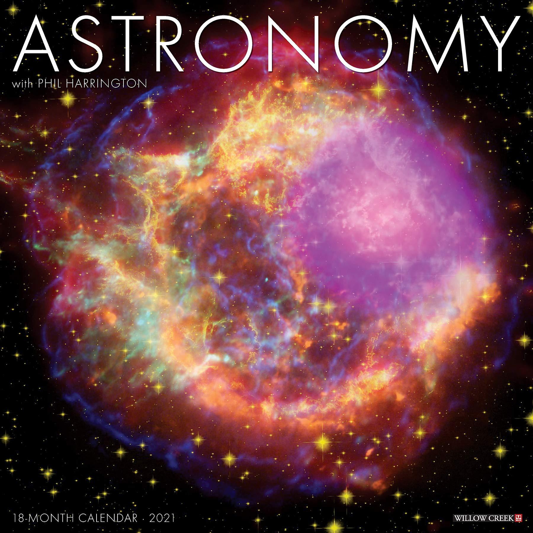 Astronomy 2021 Wall Calendar: Willow Creek Press: 0709786054930
