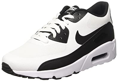4a407ba76f11b Nike AIR MAX 90 Ultra 2.0 Essential Mens Running-Shoes 875695-100_10 -  White/Black-White