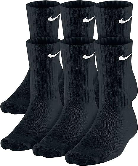 Integral mudo coro  Amazon.com: Nike Dri-Fit Classic - Calcetines acolchados (6 pares, talla  9), color negro: Clothing