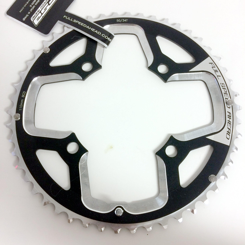 FSA Gossamer Super ABS Road Bicycle Chainring - 110x50t N-10/11 - 371-0034005050